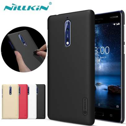 NILLKIN Super Frosted Shield Back Cover For Nokia 8 image 2