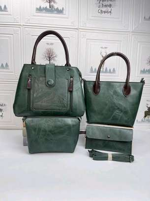 Green quality handbags image 2