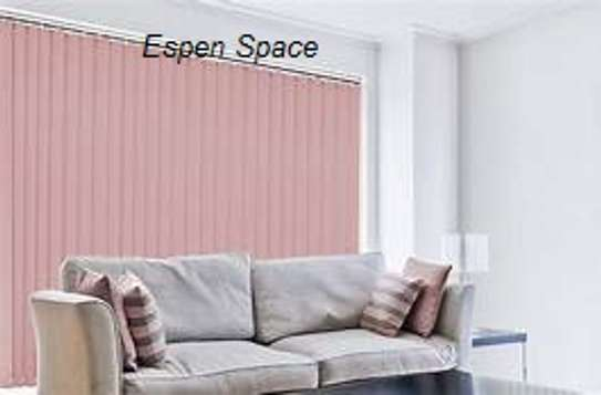 office blinds pink