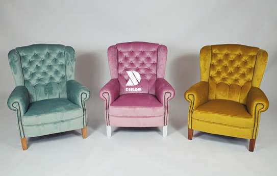 Wingback Accent Chairs. image 8
