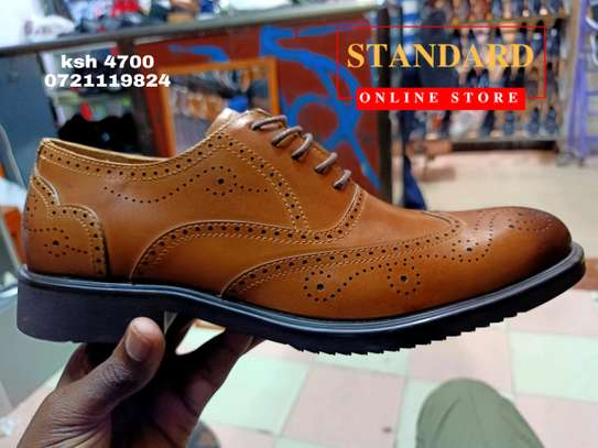 Men's Official Italian Leather Shoes with rubber sole image 25