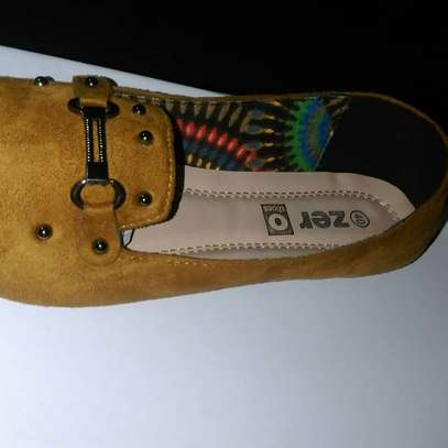 Ladies Suede Loafers image 1