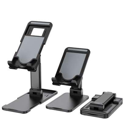 Desktop Foldable Height Adjustable Phone Holder image 1