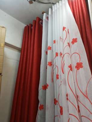 ELEGANT CURTAINS WITH MATCHING SHEERS image 2