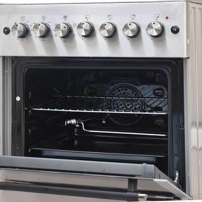 RAMTONS 4GAS+ELECTRIC OVEN 60X60 STAINLESS STEEL COOKER- RF/492 image 5