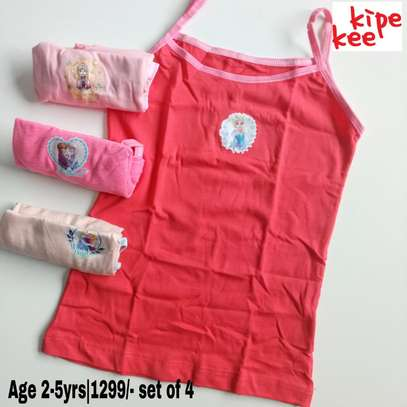 Girls Cartoon Themed Vests image 4