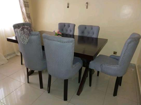 Six seater dining set/modern diningroom Dining tables image 2
