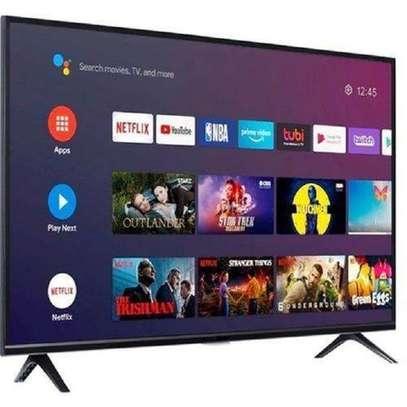 Hisense 43 inch Frameless Android Smart Digital TVs image 1