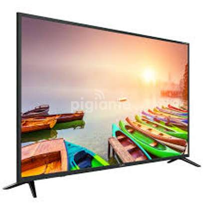 Syinix 55 inches Android Smart UHD-4K Frameless Digital TVs image 1