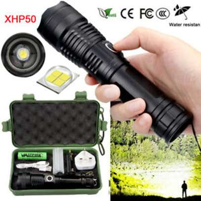 NEW Led Rechargeable Torch Spot image 1