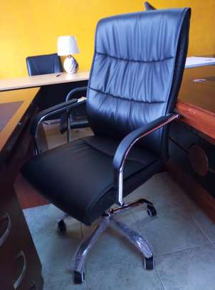 Leather Executive Office Chair image 1