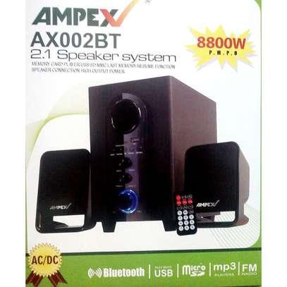 Ampex AX002 2.1CH Bluetooth Subwoofer-AC/DC,USB,SD,FM, image 1