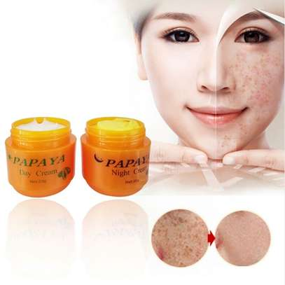 PAPAYA Whitening   Natural botanical formula skin care whitening cream. image 5