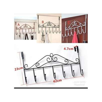 Over The Door Hanging Rack -Stylish & Easy To Use image 1