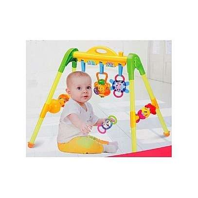 Multifunctional Baby Activity Play Mat Baby Gym With Multiple Patterns & Music 0M+, AK-666-8A