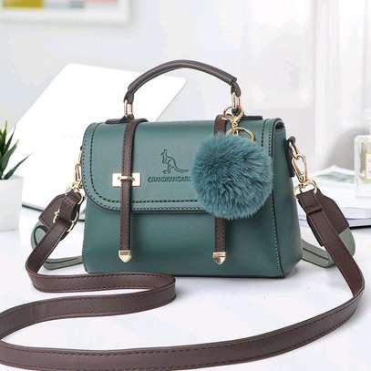 Jungle green fancy handbags image 1