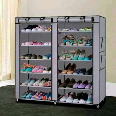 Portable shoe rack available @2800 image 1