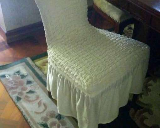 Dinning Elastic chair seatcovers image 1