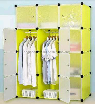 3colum plastic wardrobe image 5