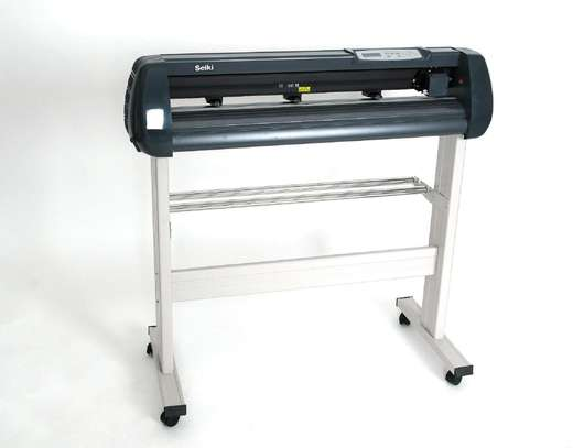 Vinyl Cutting Plotter with Signmaster Software Cutter image 1