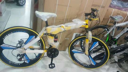 Yellow Begasso bike/bicycle