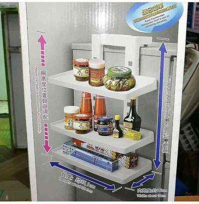 3 layer refrigerator shelf image 1