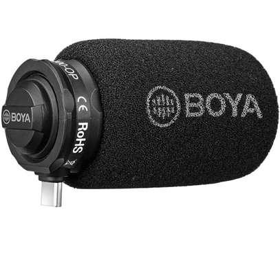 BOYA BY-DM100 DIGITAL STEREO CARDIOID CONDENSER MICROPHONE - USB C image 1