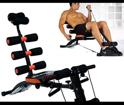 Six pack care/gym/home gym/Weight loss machine image 5