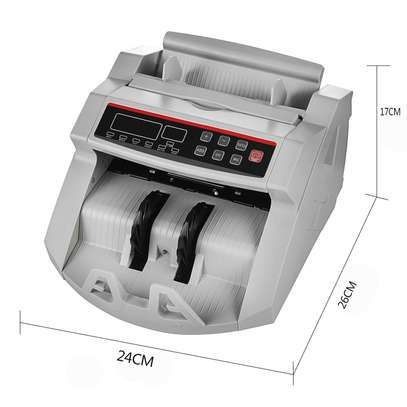 Money Cash Counting Bill Counter Bank Counterfeit Detector UV & MG Machine image 4