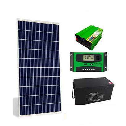Complete solar pannel kit 300watts image 1