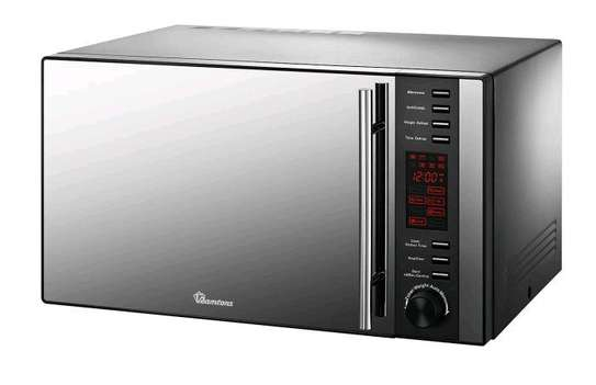 Microwave with grill. image 1