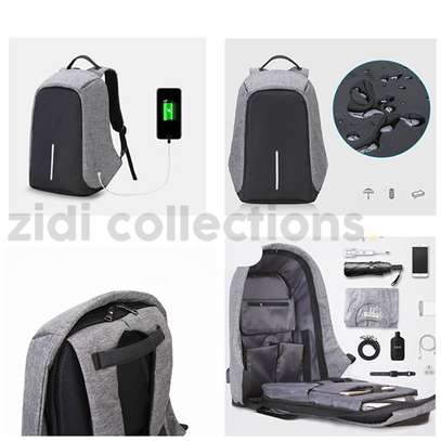 Bobby Design Anti-theft High Quality Laptop Backpack – USB Charging image 1