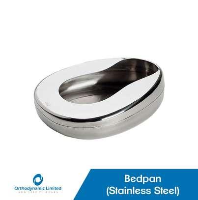 Bedpan - Stainless Steel image 1