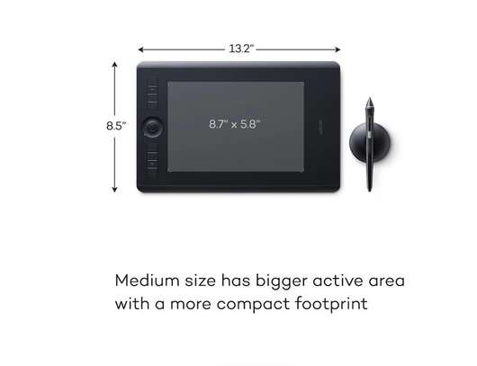 Wacom Intuos Pro Creative Pen Tablet (Medium) image 1