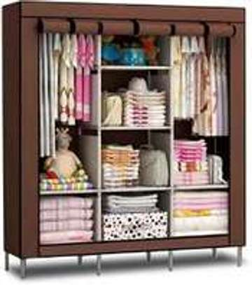 3 Column Portable Wardrobe
