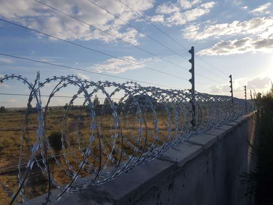 Electric Fence and Razor wire installation... image 1