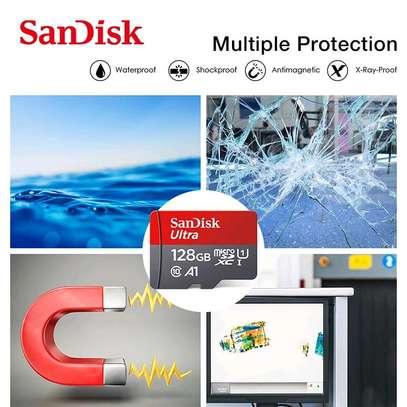 Sandisk 128GB MicroSDXC A1 100Mbs SDSQUAR/GN6MA image 2