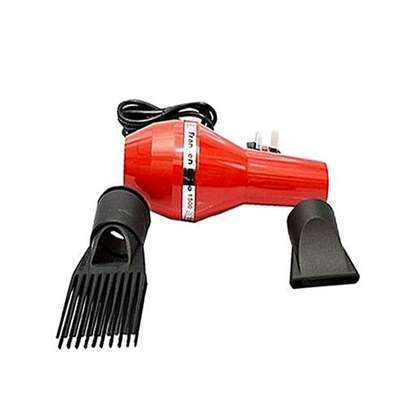 Fransen Blow Dryer with FREE 4-way Socket Extension Cable - Red image 2