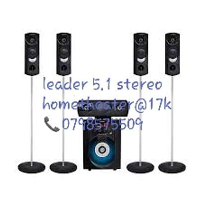 Brand new leader 5.1 stereo hometheater system available in my shop image 1