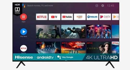 Hisense 70 inch smart android frameless 4k tv image 1