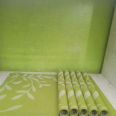 6pcs PVC table mats image 1