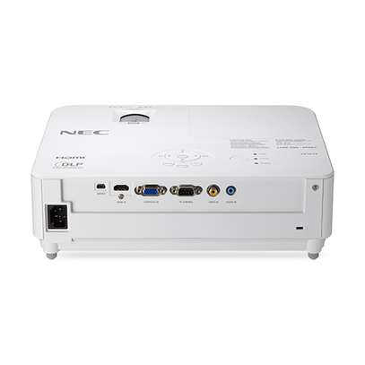 NEC's SVGA native resolution 3000-lumen VE303 portable projector image 2