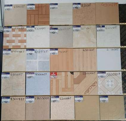 Floor tiles size 300*300mm (17pieces) image 1