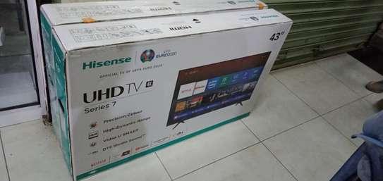 """Hisense 43"""" UHD 4K LED Smart TV - 43A7100 - Black image 2"""