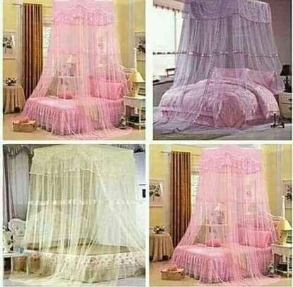 Double /single decker mosquito nets image 1