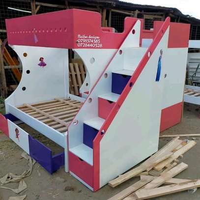 Latest Bunk bed/modern beds/double decker/baby beds for sale in Nairobi Kenya image 4