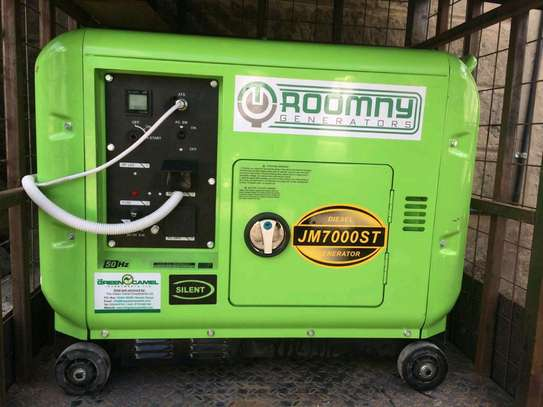 5KW Automatic Roomny Engineering Diesel Engine Silent Generator