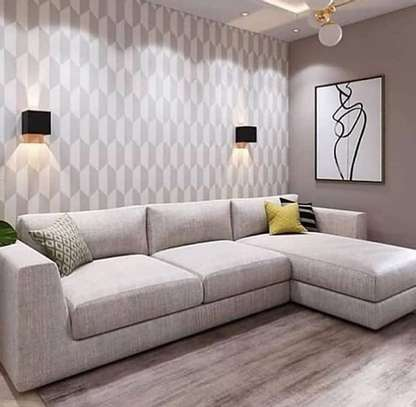 L shaped Sofa, 6 Seater image 1