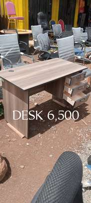 Desk walnut 1.2m image 1