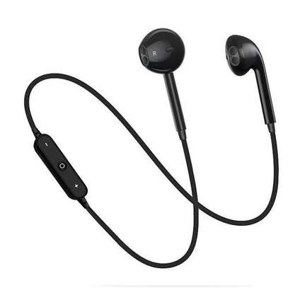 S6 Wireless Sport BlueTooth Earphone For Iphone And Android Mobile image 3